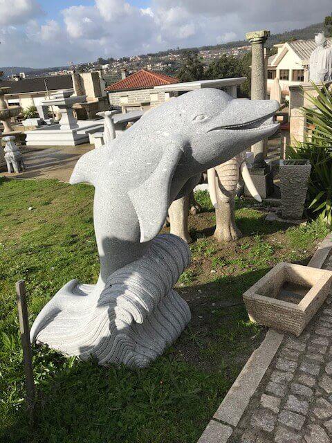 Escultura - Golfinho