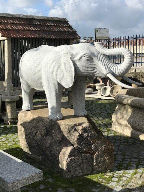 Escultura - Elefante