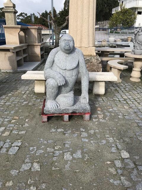 Escultura - Macaco